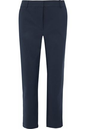 ZIMMERMANN Cropped cady tapered pants