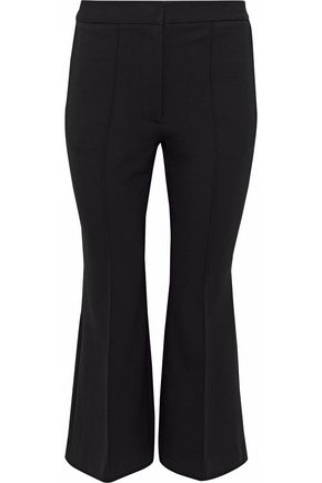TIBI Cropped cady flared pants