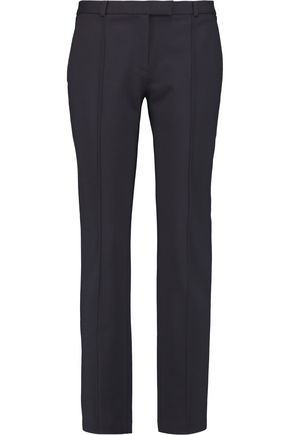 TORY BURCH Stretch-crepe slim-leg pants