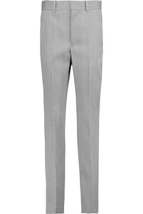 ISABEL MARANT Roly wool-twill slim-leg pants