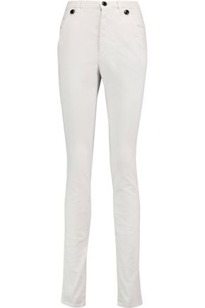 ISABEL MARANT Meryl stretch cotton-blend skinny pants