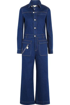 STELLA McCARTNEY Denim jumpsuit