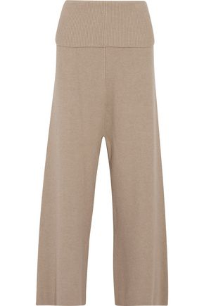STELLA McCARTNEY Folded wool wide-leg pants
