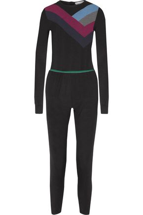 STELLA McCARTNEY All In One wool and silk-blend jumpsuit