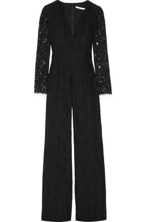 DIANE VON FURSTENBERG Kyara corded lace jumpsuit