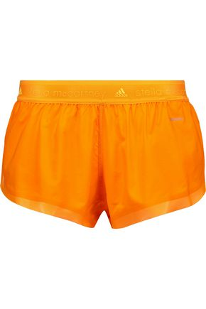 ADIDAS by STELLA McCARTNEY Running Adizero mesh-trimmed shell shorts