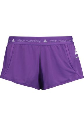 ADIDAS by STELLA McCARTNEY Perforated shell shorts