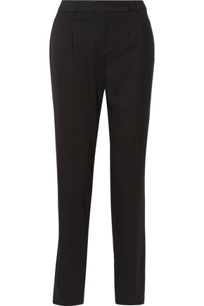 VALENTINO Wool-blend twill straight-leg pants