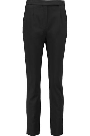 VALENTINO Stretch wool-twill slim-leg pants