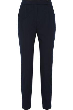 VALENTINO Stretch wool-blend twill slim-leg pants