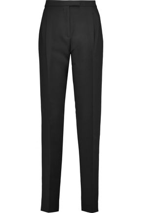 VALENTINO Wool and silk-blend tapered pants