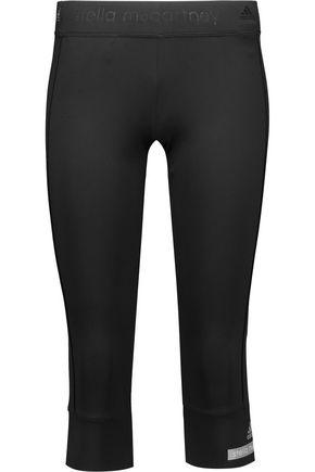 ADIDAS by STELLA McCARTNEY Cropped stretch-jersey leggings