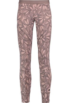 ADIDAS by STELLA McCARTNEY Studio printed stretch-knit leggings