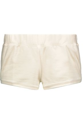 ADIDAS by STELLA McCARTNEY Low Waste cotton-blend fleece shorts