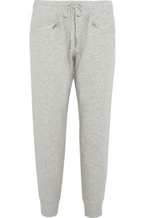 ADIDAS by STELLA McCARTNEY Cotton-jersey track pants