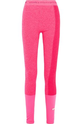 ADIDAS by STELLA McCARTNEY Ribbed stretch-jersey leggings