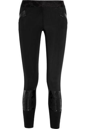 ADIDAS by STELLA McCARTNEY Run Climalite® stretch-neoprene jersey leggings