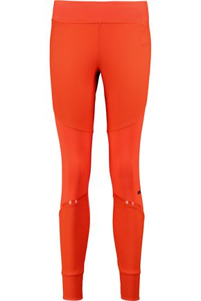 ADIDAS by STELLA McCARTNEY Paneled stretch-jersey leggings
