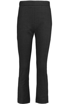 IRO Wool-crepe flared pants