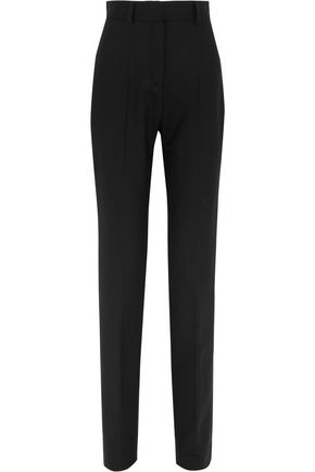 IRO Wool-blend crepe straight-leg pants