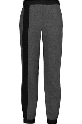 AMANDA WAKELEY Klara brushed-twill tapered pants