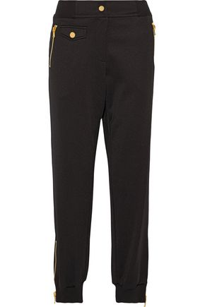 MOSCHINO Satin tapered pants