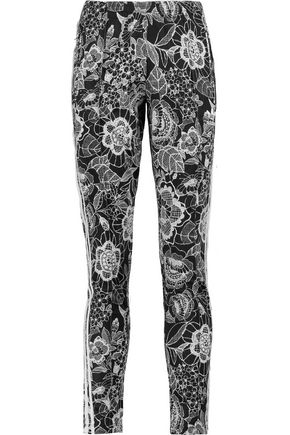ADIDAS ORIGINALS Florido floral-print shell track pants