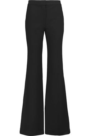 Woman Anson Crepe Flared Pants Black