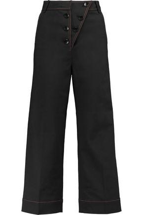 TIBI Woven wide-leg pants