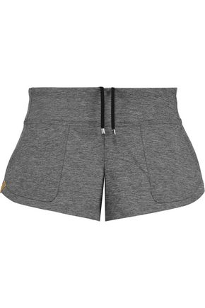 MONREAL LONDON Slub stretch-jersey shorts