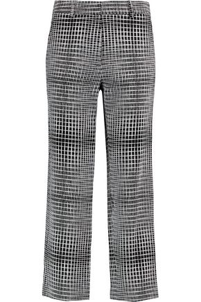 GOAT Printed jacquard straight-leg pants