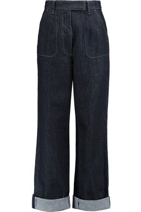 REDValentino High-rise wide-leg jeans