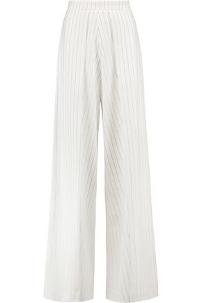 SOLACE LONDON Taryn striped jersey pants