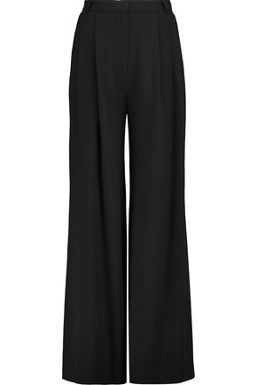 GOAT Redford wool-crepe wide-leg pants