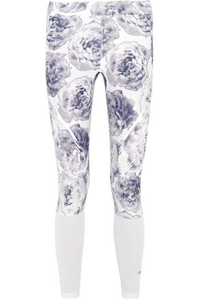 ADIDAS by STELLA McCARTNEY Printed stretch-jersey leggings