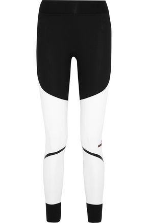 ADIDAS by STELLA McCARTNEY Train Tight paneled Climalite stretch-jersey leggings
