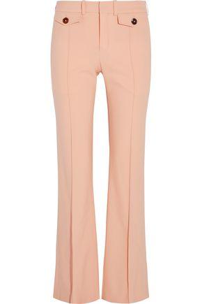 CHLOÉ Stretch-wool flared pants