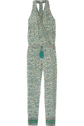 TALITHA Printed silk-georgette jumpsuit