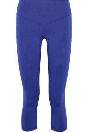 OLYMPIA ACTIVEWEAR Mateo cropped stretch-jersey leggings