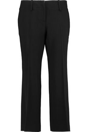 MICHAEL KORS COLLECTION Wool-blend crepe bootcut pants