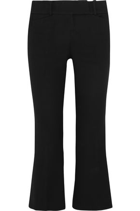 MICHAEL KORS COLLECTION Cropped cotton bootcut pants