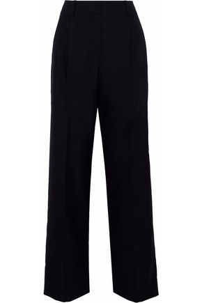 ALEXANDER WANG Wool-jacquard wide-leg pants
