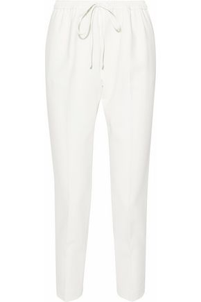 ALEXANDER WANG Cropped crepe tapered pants