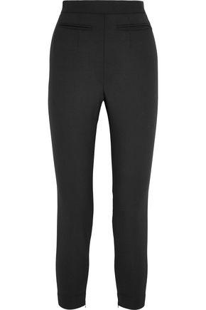 ALEXANDER MCQUEEN Stretch wool-blend leggings