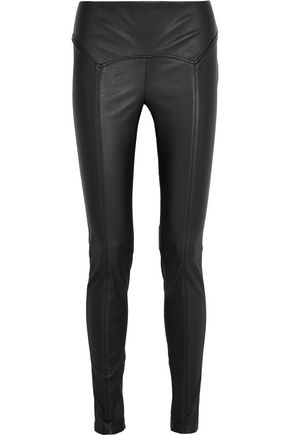 TOM FORD Stretch-leather leggings