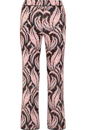 GIAMBATTISTA VALLI Jacquard flared pants