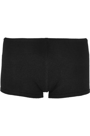 BALLET BEAUTIFUL Skyline stretch-knit shorts