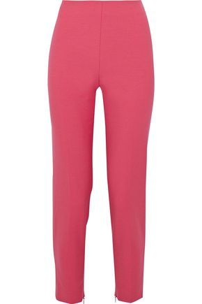 RED(V) Cropped crepe slim-leg pants