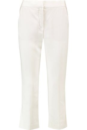 LANVIN Crepe straight-leg pants