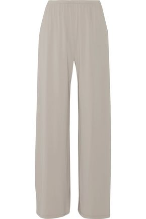 THE ROW Lala stretch-crepe wide-leg pants
